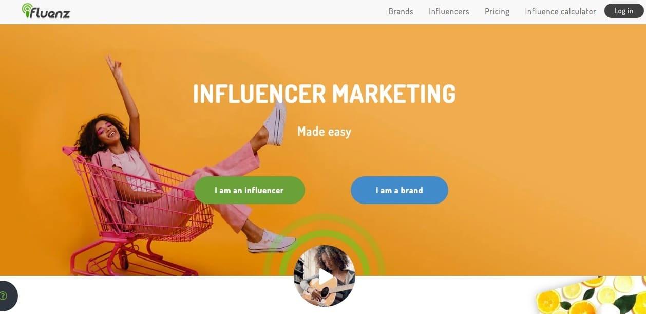 influencer marketing sites