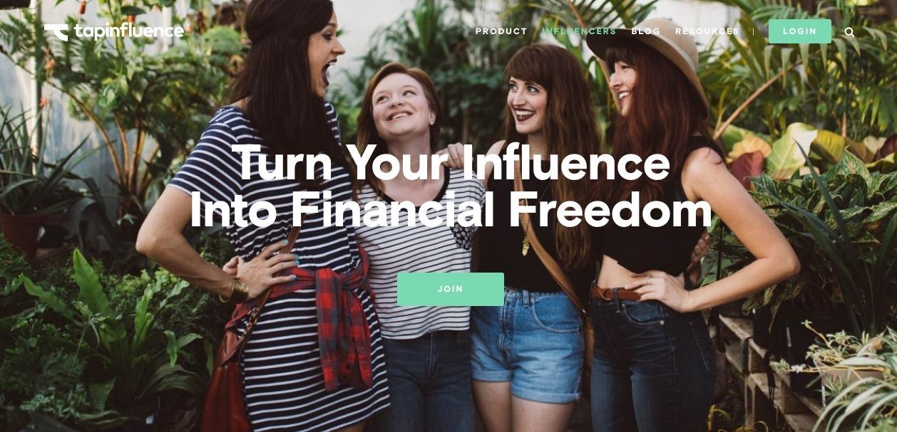 social influencer platform