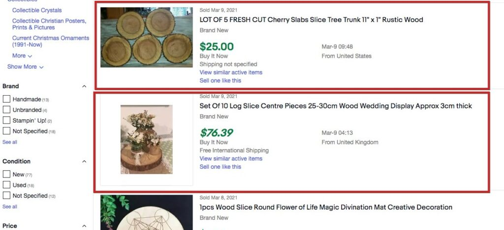 popular things to sell on ebay