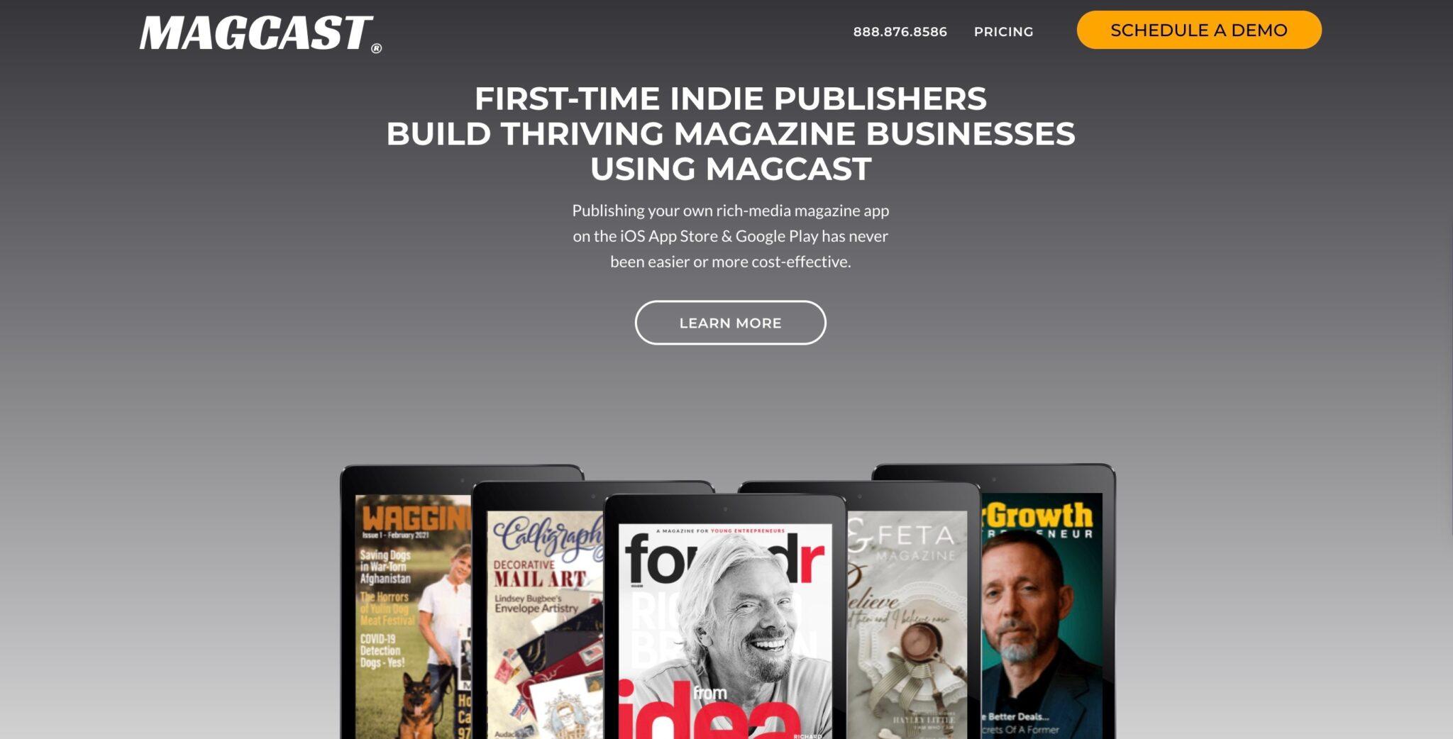 starting online publication