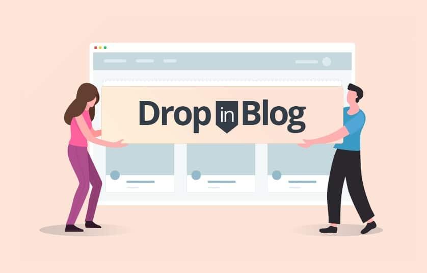 embed blog into website