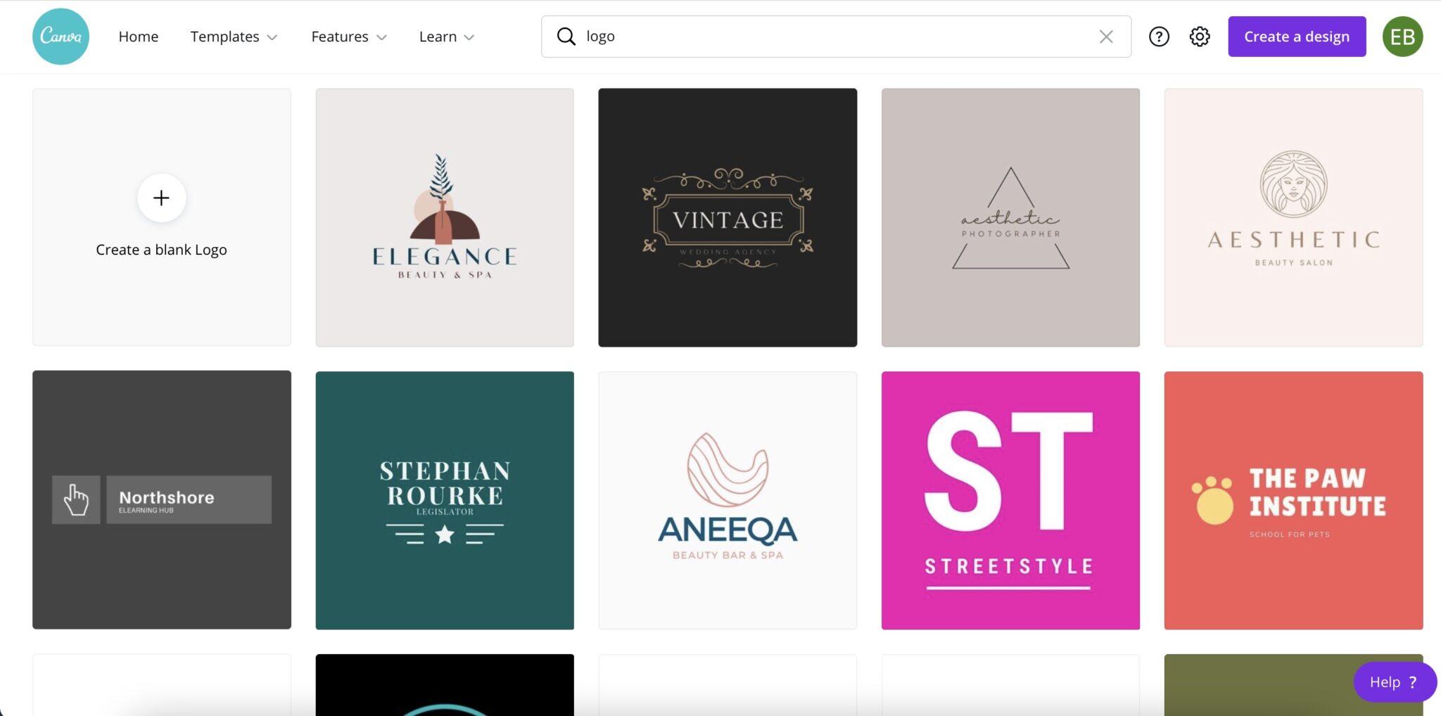 faire créer un logo