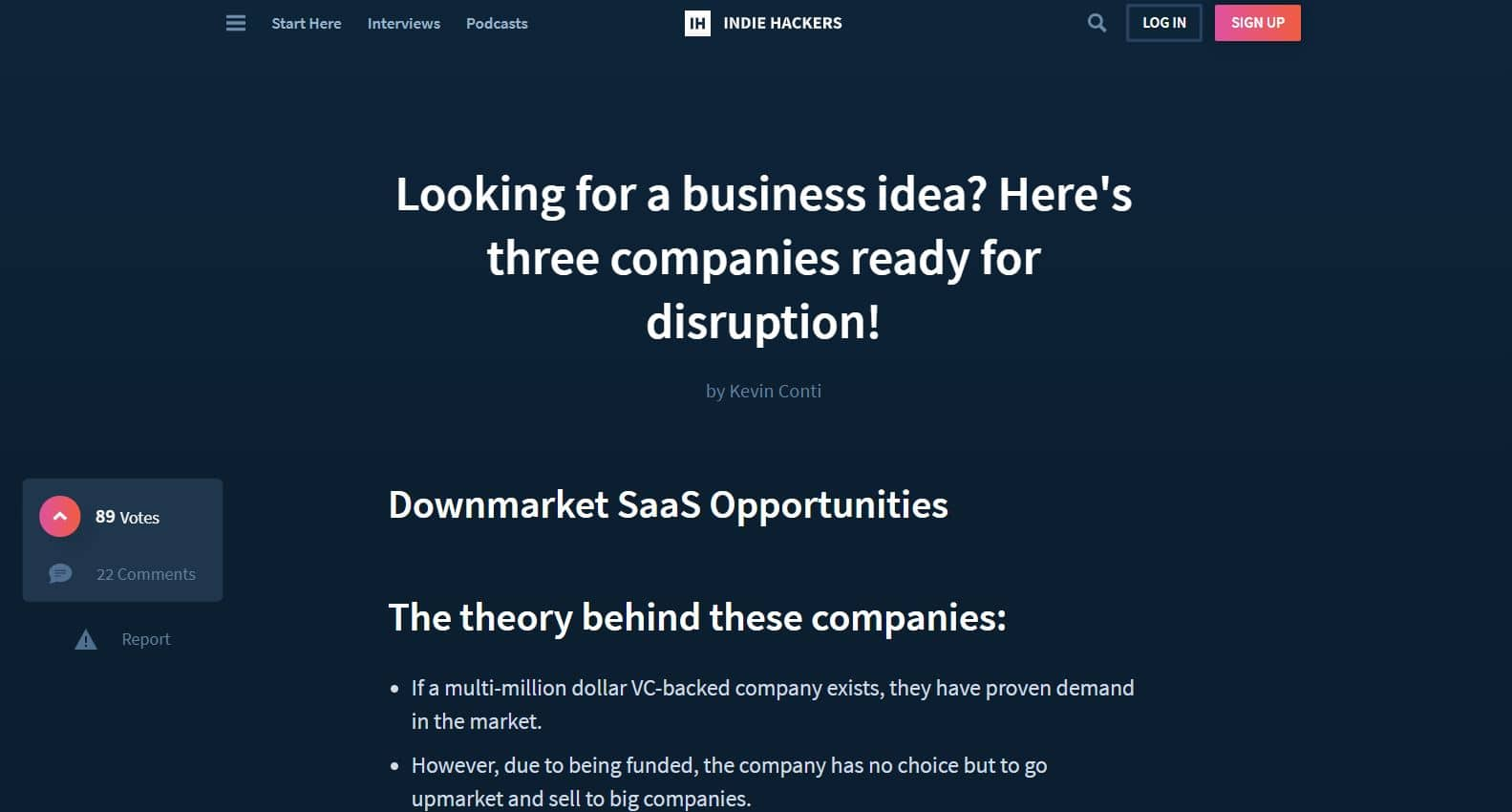 how to get ideas for saas products