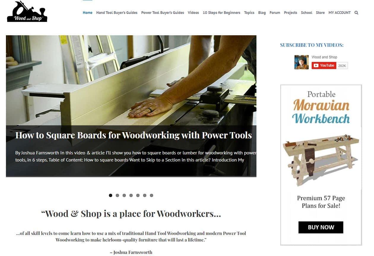 popular woodworking blogs