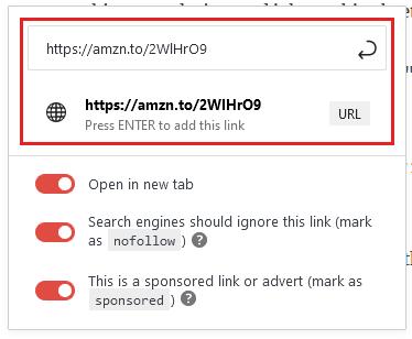 comment ajouter des liens d'affiliation sur wordpress