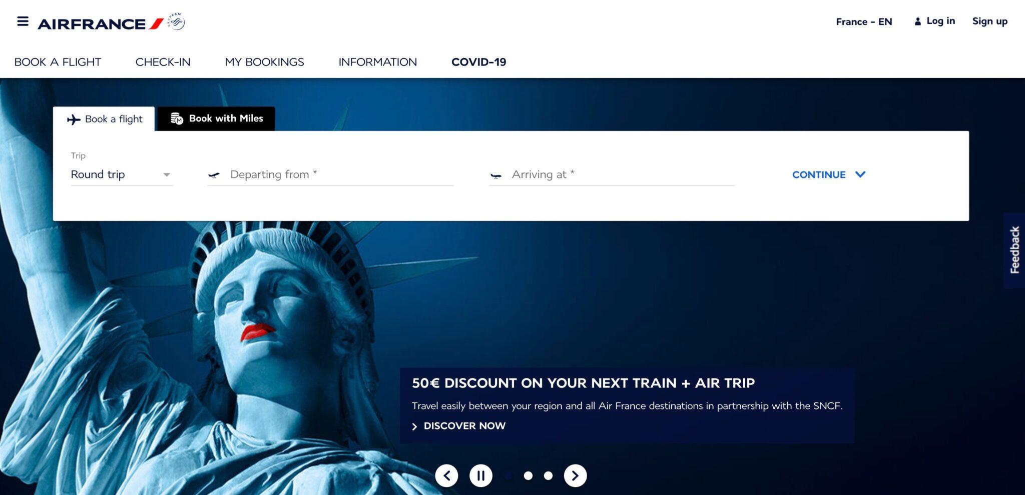 Air France affiliate program